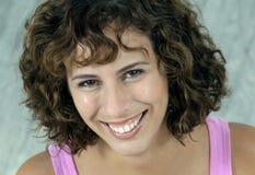 brunetka ekspresyjna Zdjęcie Royalty Free