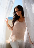 brunetka model piękna Zdjęcia Royalty Free