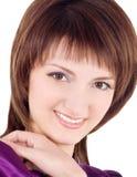 brunetka nad ja target1391_0_ obrazka biel zdjęcia royalty free
