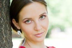 brunetka piękno brunetka Fotografia Stock