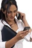 brunetka piękny bizneswoman Zdjęcia Royalty Free