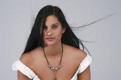 brunetka portret Obraz Stock