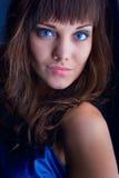 brunetka portret Zdjęcia Stock