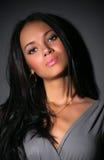 brunetka portreta kobiety potomstwa fotografia royalty free