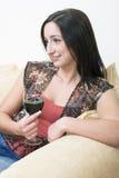 brunetki 2 pić zdjęcie stock
