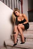 brunetki 27 seksowna kobieta Obraz Royalty Free