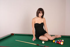 brunetki 39 seksowna kobieta Obraz Stock