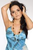 brunetki atrakcyjna dziewczyna Zdjęcie Royalty Free