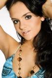 brunetki atrakcyjna dziewczyna Obrazy Royalty Free
