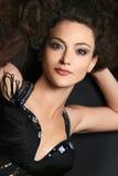 brunetki atrakcyjna piękna kobieta zdjęcie stock