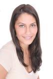 brunetki dziewczyny headshot dosyć Obraz Royalty Free