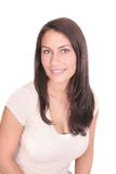 brunetki dziewczyny headshot dosyć Obrazy Royalty Free