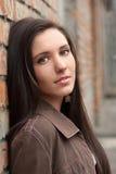 brunetki dziewczyny portret dosyć Obrazy Royalty Free