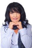 brunetki fryzury portreta kobieta fotografia royalty free