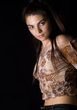 brunetki kobieta Obrazy Royalty Free