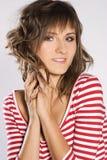brunetki kobieta Zdjęcie Royalty Free