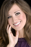 brunetki kobiety model Obraz Stock