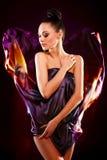 brunetki mody dziewczyny wzorcowy target1628_0_ zmysłowy seksowny Zdjęcia Royalty Free