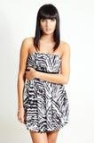 brunetki mody kobieta Fotografia Royalty Free