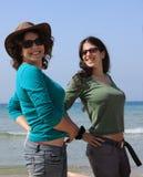 brunetki morze Zdjęcie Royalty Free