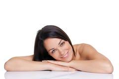 brunetki piękna kobieta obraz royalty free
