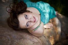brunetki piękna dziewczyna Zdjęcie Stock