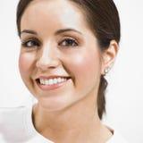 brunetki piękny headshot Fotografia Royalty Free