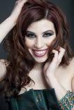 brunetki piękny studio Obraz Stock