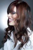 brunetki piękny studio Zdjęcia Stock
