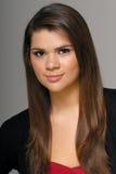 brunetki portreta ładna kobieta Obrazy Royalty Free