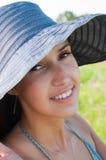 brunetki portreta kobieta obrazy stock