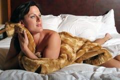 brunetki seksowna kobieta Zdjęcie Royalty Free