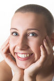 brunetki tła portret piękna kobieta Obraz Stock