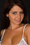 brunett Royaltyfri Foto