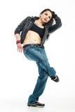 Brunett dancer. Stock Image