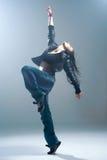Brunett dancer. Stock Photography