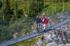 Brunetta di Toolshed, Valais, svizzero Immagini Stock Libere da Diritti