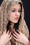 Brunette árabe 'sexy' Fotografia de Stock Royalty Free