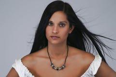 brunette αερακιού Στοκ εικόνα με δικαίωμα ελεύθερης χρήσης