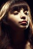 brunette αρκετά Στοκ εικόνα με δικαίωμα ελεύθερης χρήσης