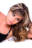 brunette γοητευτικό Στοκ φωτογραφία με δικαίωμα ελεύθερης χρήσης