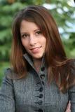 brunette ομορφιάς Στοκ Φωτογραφία
