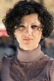 brunette συμπαθητικό Στοκ Φωτογραφία