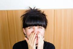 Brunette χαμόγελου Στοκ εικόνες με δικαίωμα ελεύθερης χρήσης