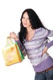 Νέο brunette γοητείας Στοκ εικόνα με δικαίωμα ελεύθερης χρήσης