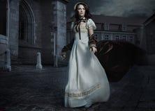 brunette ομορφιάς Στοκ Φωτογραφίες