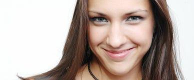 brunette 3 πανέμορφο Στοκ Εικόνες