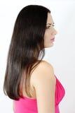 Brunette stock foto