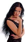 brunette πανέμορφο Στοκ εικόνα με δικαίωμα ελεύθερης χρήσης
