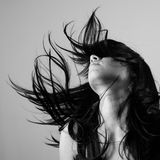 brunette Στοκ Φωτογραφίες